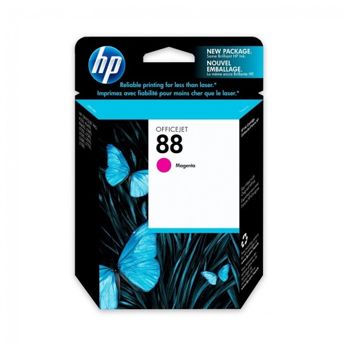 Cartucho de tinta HP Magenta No. 88 (C9387AL) p/K550