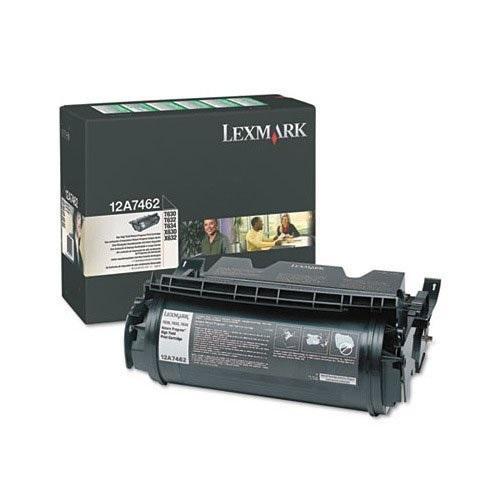 Toner LEXMARK Negro (12A7462) p/T630/T632/T634