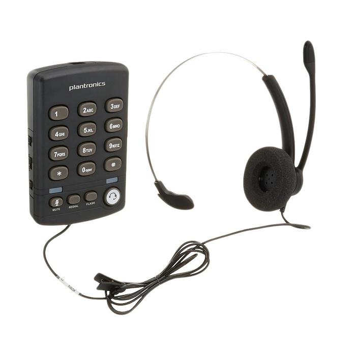 Telefono tipo Diadema analogico Plantronics T110